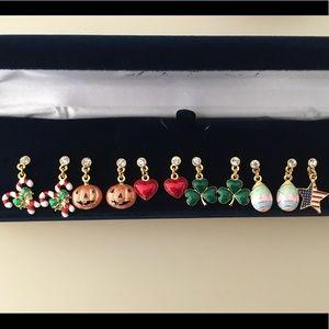 Danbury Mint Jewelry - NWOT Danbury Mint Seasonal Earrings